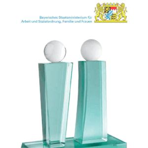 award bayerischer frauenfoerderpreis 2008