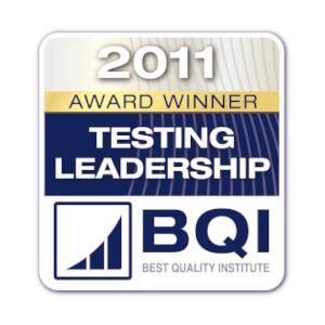 logo bqi testing leadership award winner