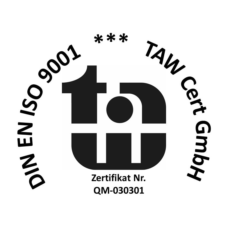 logo din en iso 9001 zertifikat 2021 1