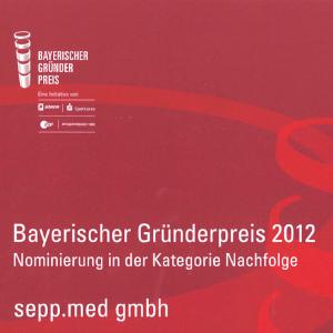 nominierung bayerischer gruenderpreis 2012