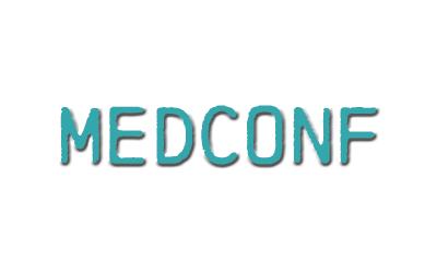 medconf logo news querformat