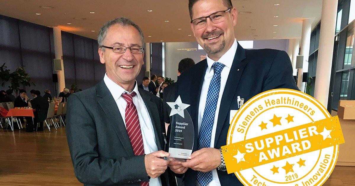 siemens supplier award socialshare