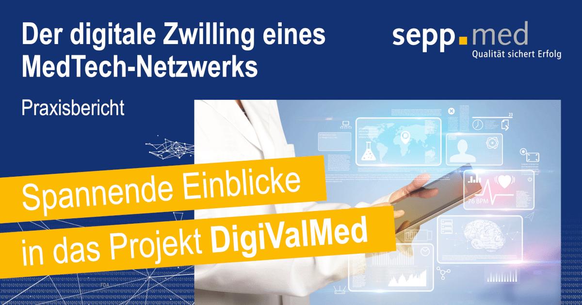 der digitale zwilling eines medtech netzwerks socialshare